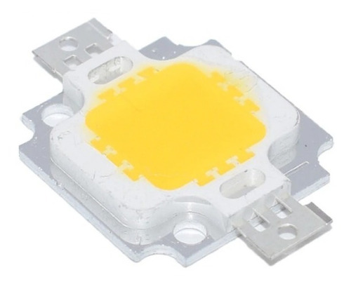 led amarillo 10w chip cob  9-11v 900ma