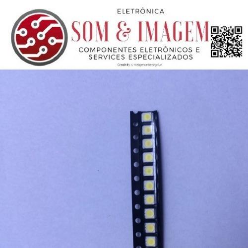 led backlight tv lg 2835 smd 1w 3v original 20 peças