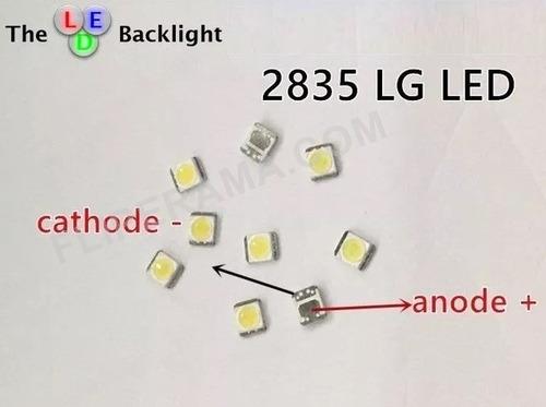 led backlight tv lg 2835_1w 3v _100 unidades