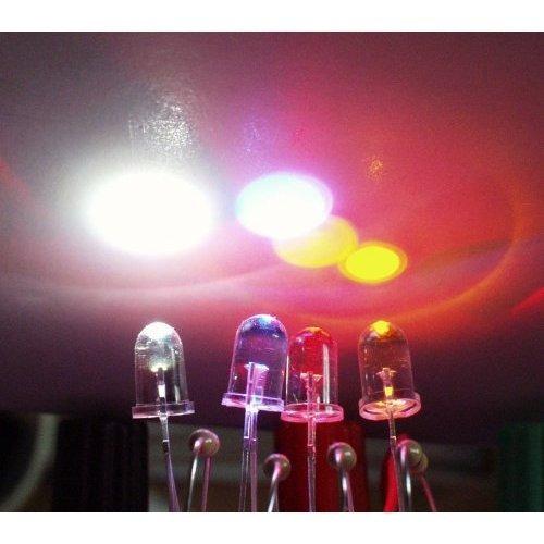 led blanco diodo 5mm alto brillo x 1000 unidades