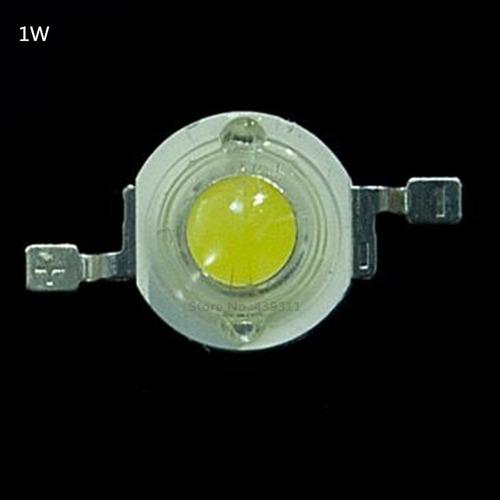led blanco frio de 1 w. de alta potencia x unidad.
