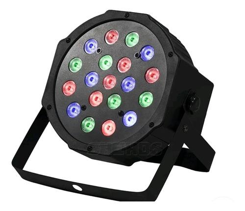 led cañon 18x1w rgb tacho dj iluminación foco beam wash