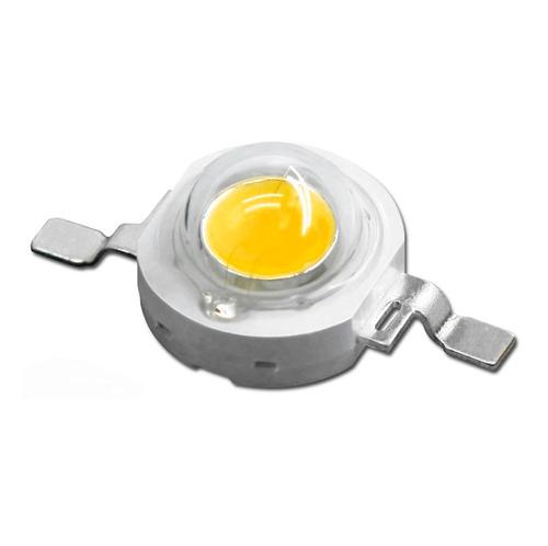 led cob chip alta potencia 3w blanco cálido