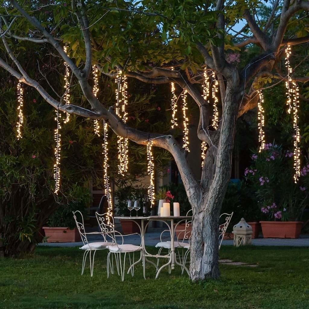 Led Colgante Vintage Jardin 15mts Decoración Bodas Arboles
