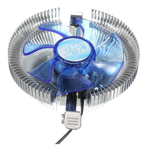 led cpu cooler disipador para intel lga775 1155/1156 i3/i5/i