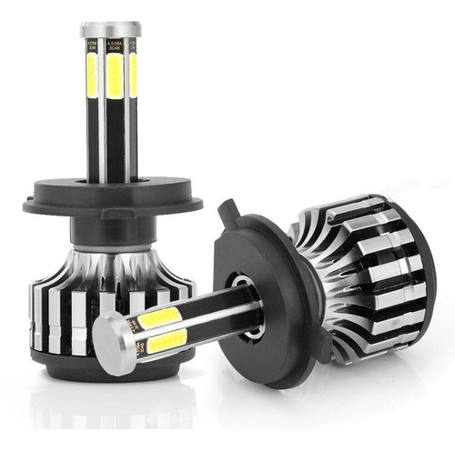 led cree auto h4 6 caras led alta y baja mayor potencia luz