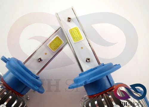 led cree h1 h7 h3 h16 x2 xenon cob t1 9600 lum 40w