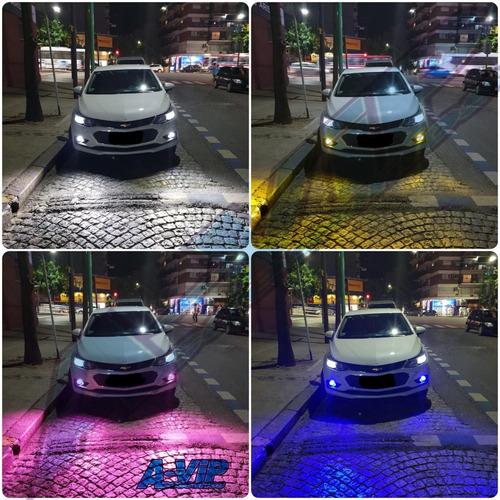led cree x14 32000 lm 4 colores h3 psx24 h7 h11 h8 hb4 h16