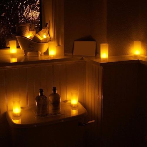 led decorativa vela