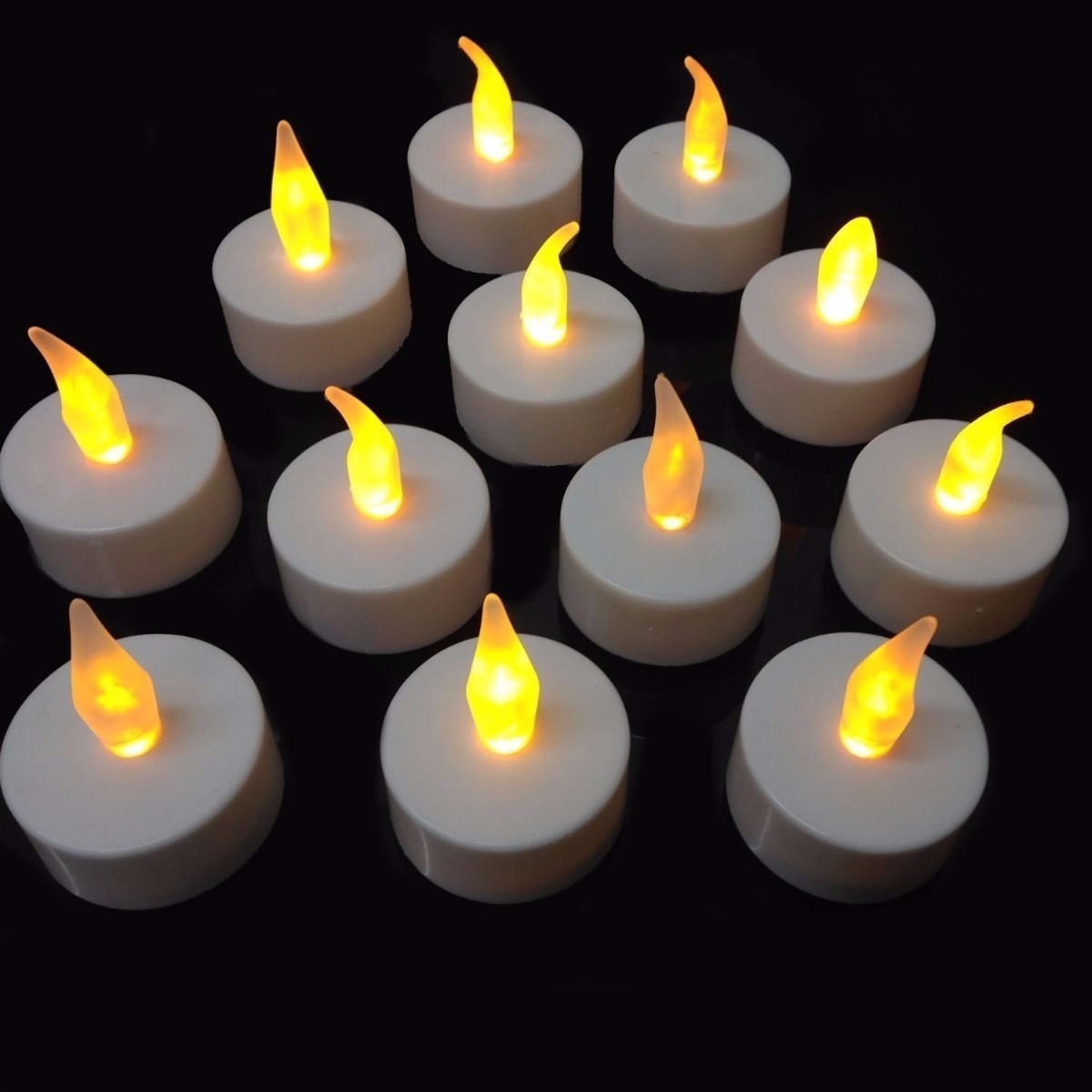 Kit com 6 velas de led decorativas baterias inclusas r - Velas led primark ...