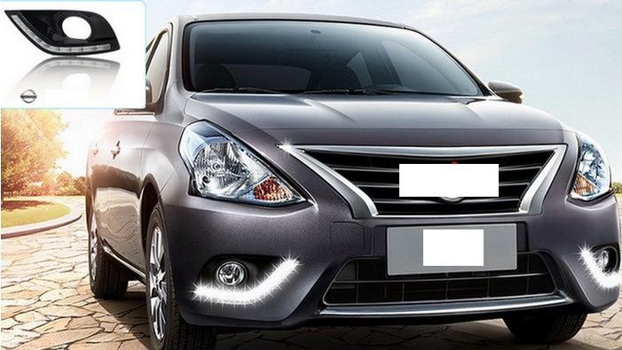 Led Drl Luz De Dia Faros Nissan Versa 2015 1 500 00 En