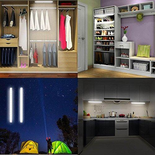 led espejo luz portátil luces de tocador | daylight simulado