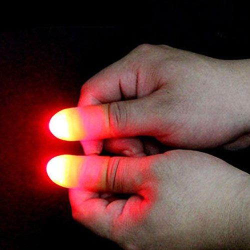 led finger lamp (2 paquetes / 4pcs) thumbs light, magic lig