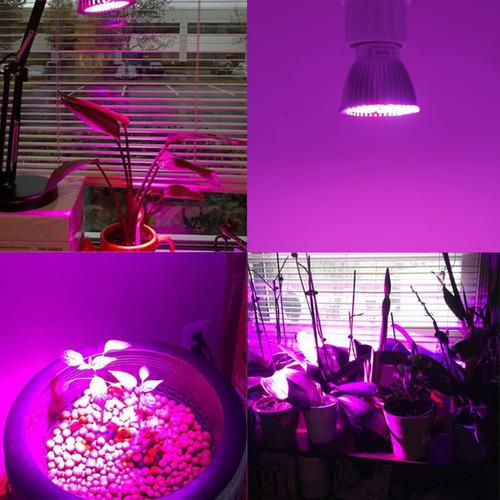led full spectrum grow 18w 220v 110v indoor grow cultivo