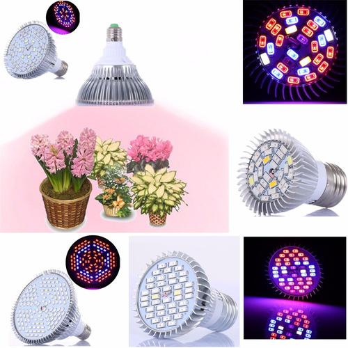 led grow 50w lâmpada bivolt full espectro vegetação floração