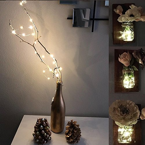 07156f18c49 Led Guirnalda De Luces Led Con 20 Micro Led Y Cable De Cobre ...