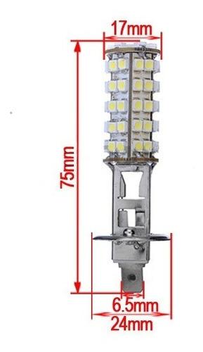 led h1 120 led smd branco xenon nevoeiro feixe de estrada