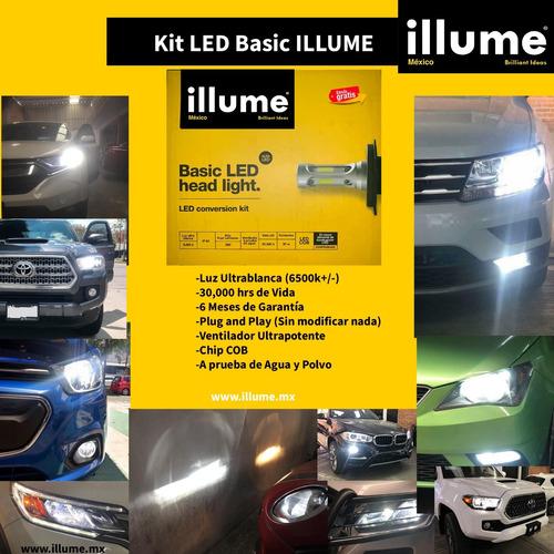 led illume basic + 2 t10 led pellizco premium + envio gratis