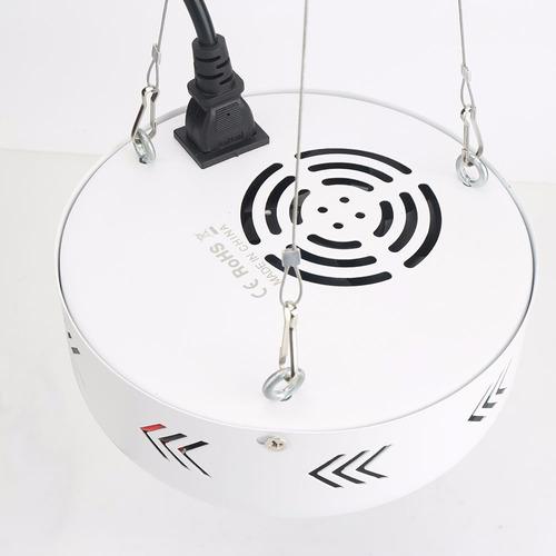 led indoor ufo alta potencia 216w crecimiento y floración