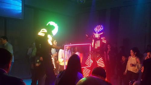 led led show robot
