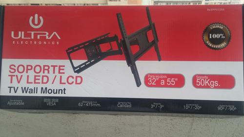 led lg 60 pulgadas soporte tipo brazo aguanta 50k