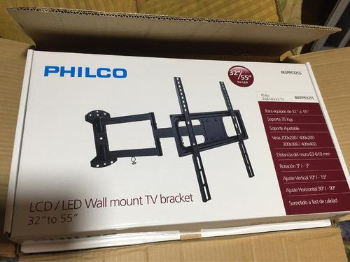 led lg samsung 49-55 soporte de brazo philco envio gratis