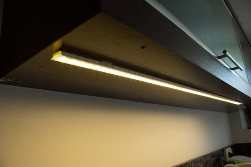led line perfil touch! para iluminar bajomesadas - 1 metro