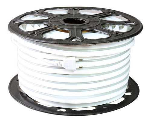 led neon flexible ip68 blanco frío manguera 5m c/adaptador