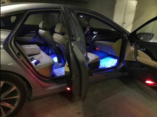 led neon rgb luz adesivo interior - acessórios carro tuning