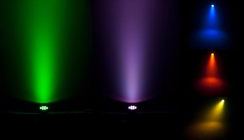 led par chauvet slimpar quad 12 irc rgba quadricolor c/ dmx