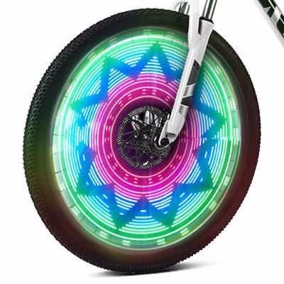 led para bicicleta mas de 25 diseños