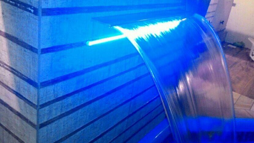 Led para cascata de piscina rgb resistente a gua r for Led para piscinas