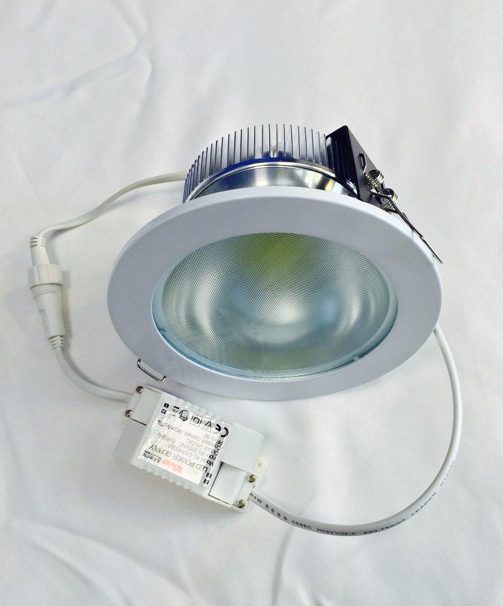 Spot base empotrable led para techo 10w bote foco lampara - Foco led empotrable ...