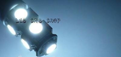 led pingo 9 smd t10 w5w esmagadinha xenon kit c/ 10 atacado