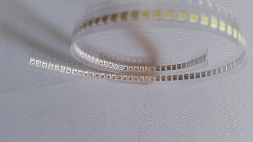 led repuesto cinta barra tv tira lg 3528 2835 3v  2 unidades