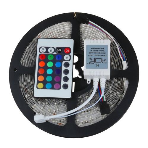 led rollo 3528-12v-220v rgb-7 colores control+ tran fondo b