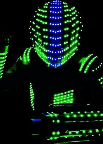 led show led led show led animación robot