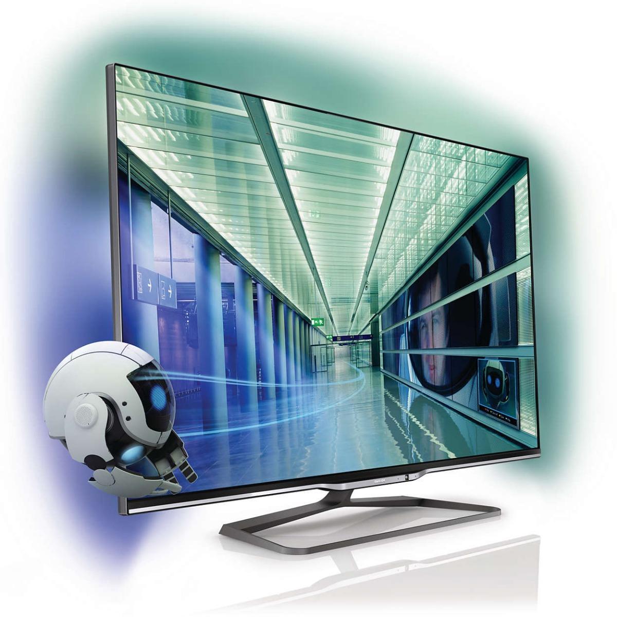 605cf6d97a0b0 led smart tv 3d 55 philips ultra delgado mod. 55pfl8008 77. Cargando zoom.