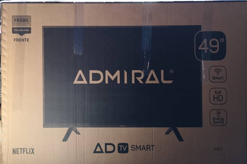 led smart tv 49 full hd admiral nexflix tda wifi permuto