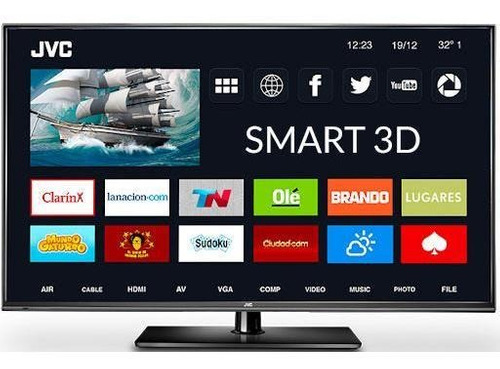 led smart tv 50  full hd 3d jvc (lt50da940)