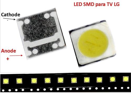 led smd 3535 para -tv lg - 6v. - 2w. 250ma (tira de 6 led)