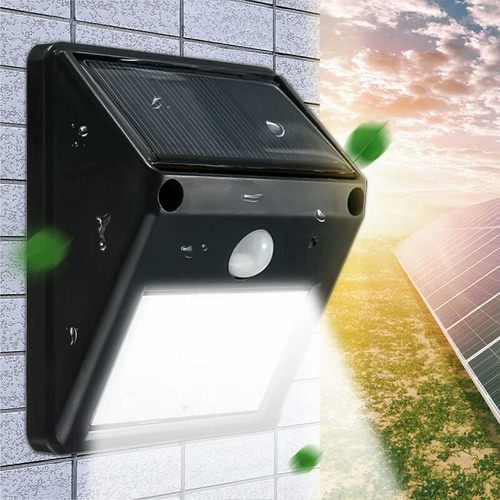 led solar exteriores lámpara arborante 240 lumenes hiperled