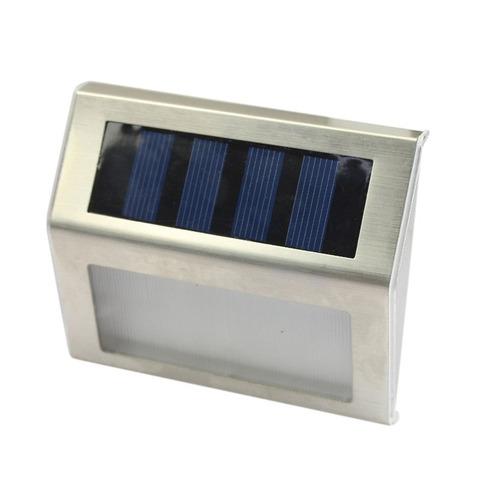 led solar poder caminho escada ao ar livre luz jardim quinta