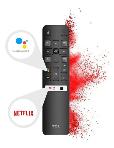 led tcl 40pulgadas 40s6500 fhd smart & android tv