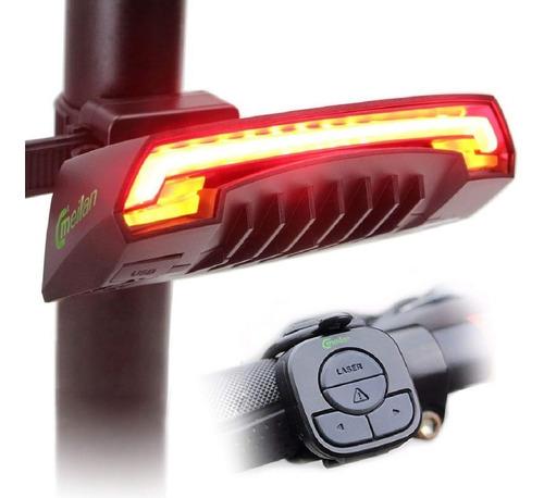 led trasero bicicleta meilan x5 laser señalizador original