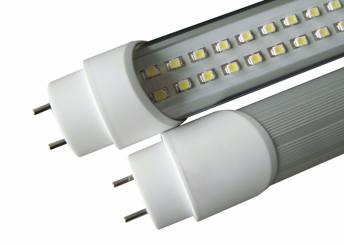 Kit 10 lampada led tubular ho 240cm 2 4m branco frio for Lampada led