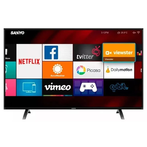 led tv 50 smart full hd sanyo lce50sf8100 netflix youtube