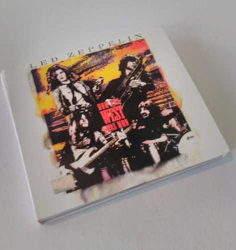 led zepellin how the west was won cd