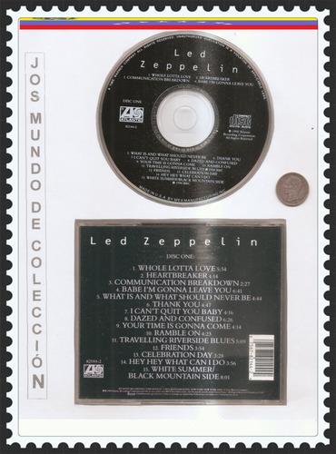 led zeppelin - cd  original -  un tesoro musical