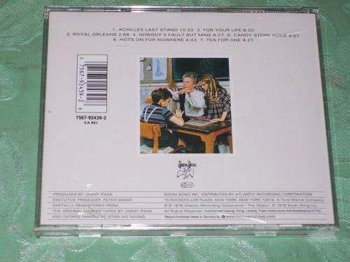 led zeppelin - cd presence importado (sabbath, ac/dc, floyd)